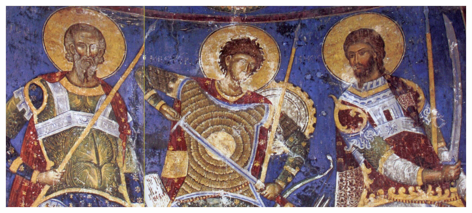 Anonymous / «Святые войны» / Сербия / Монастырь Манасия / Церковь Святой Троицы / XVв.