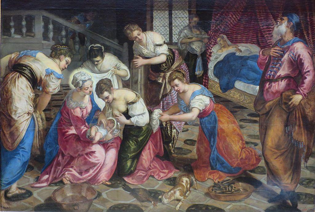 Якопо Тинторетто / «Рождество Иоанна Крестителя»» / 1550