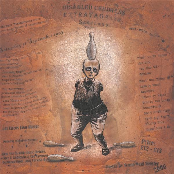 Тэнно Пент Соостер / из серии «Шотландский цирк детей-инвалидов. Жонглер» / 2006