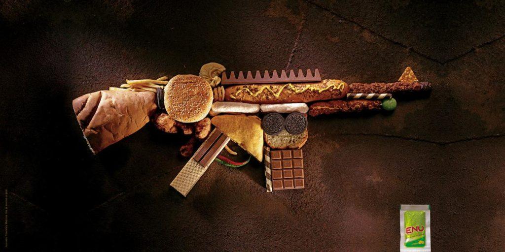 Ogilvy & Mather / «GUN» - реклама дезинфицирующего средства для рук «Eno» / 2008