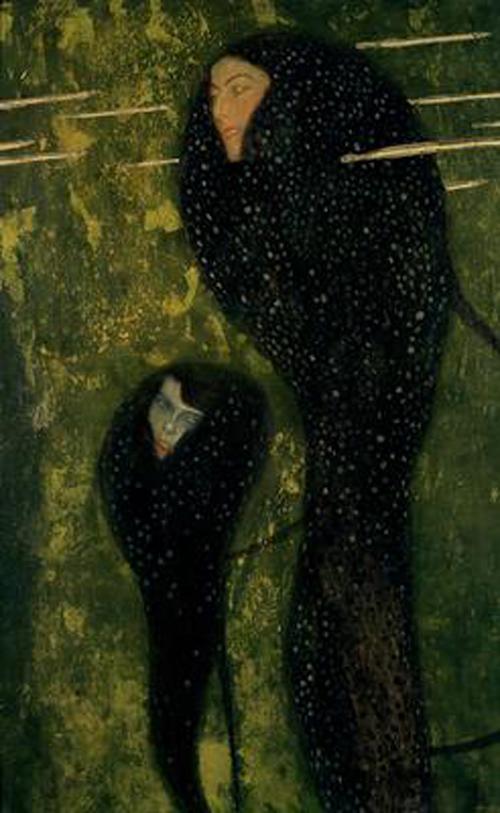 Густав Климт / «Русалки» / 1889