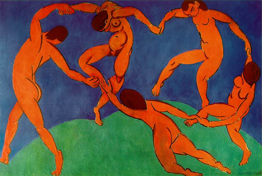 Анри Матисс / «Танец» / 1910