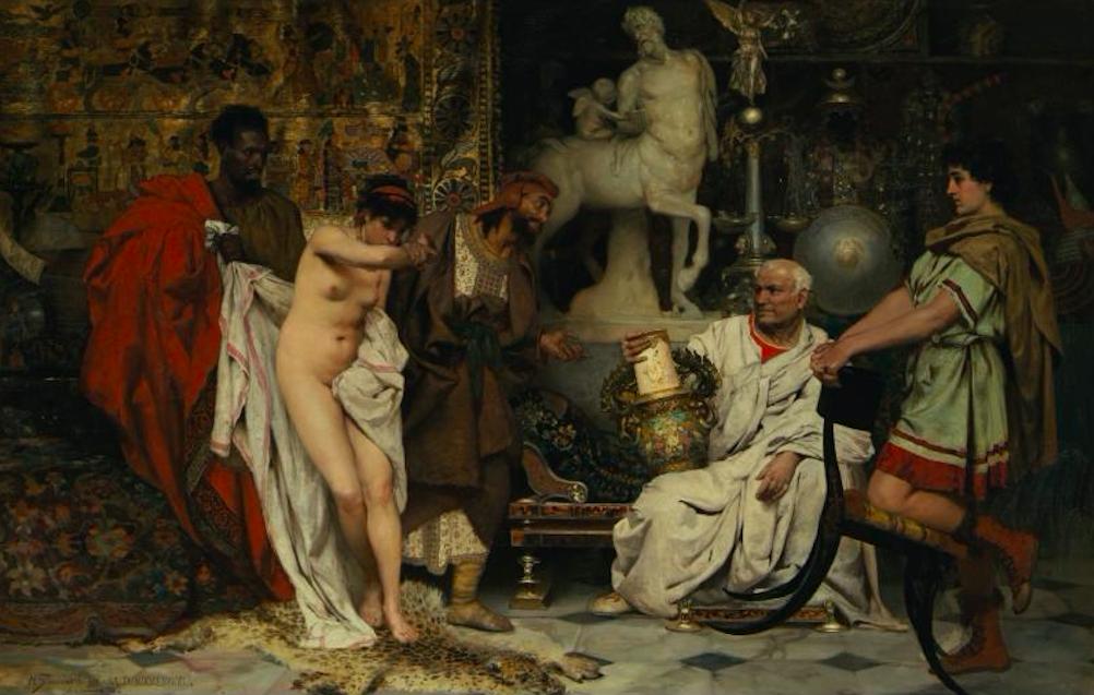 Генрих Семирадский / «Женщина или ваза?» / 1887