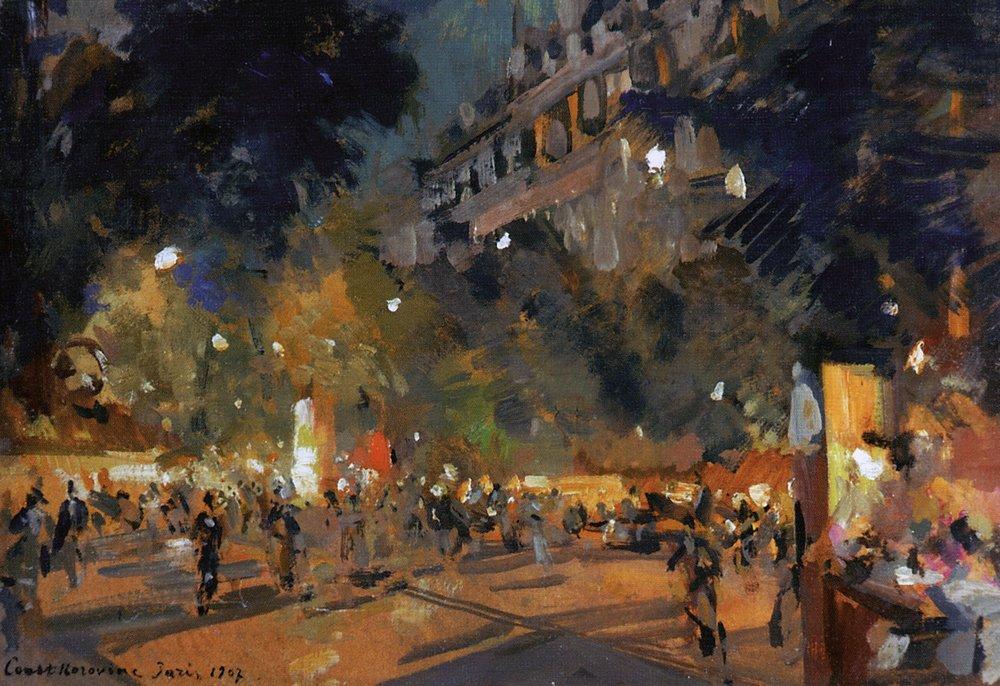 Константин Коровин / «Париж» / 1907