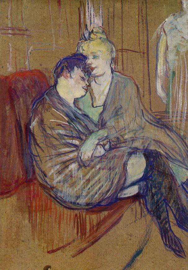 Анри де Тулуз-Лотрек / «Две подружки» / 1894
