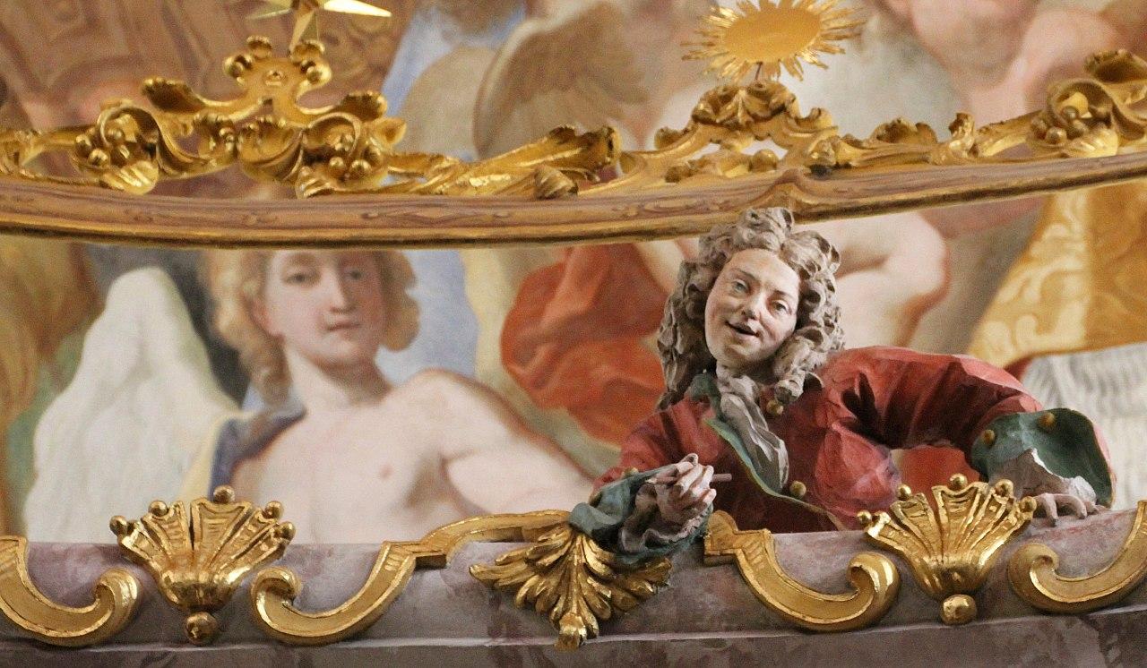 скульптор / художник / архитектор Космас Дамиан АЗАМ (1686-1739) / Аббатство Вельтенбург / Бавария