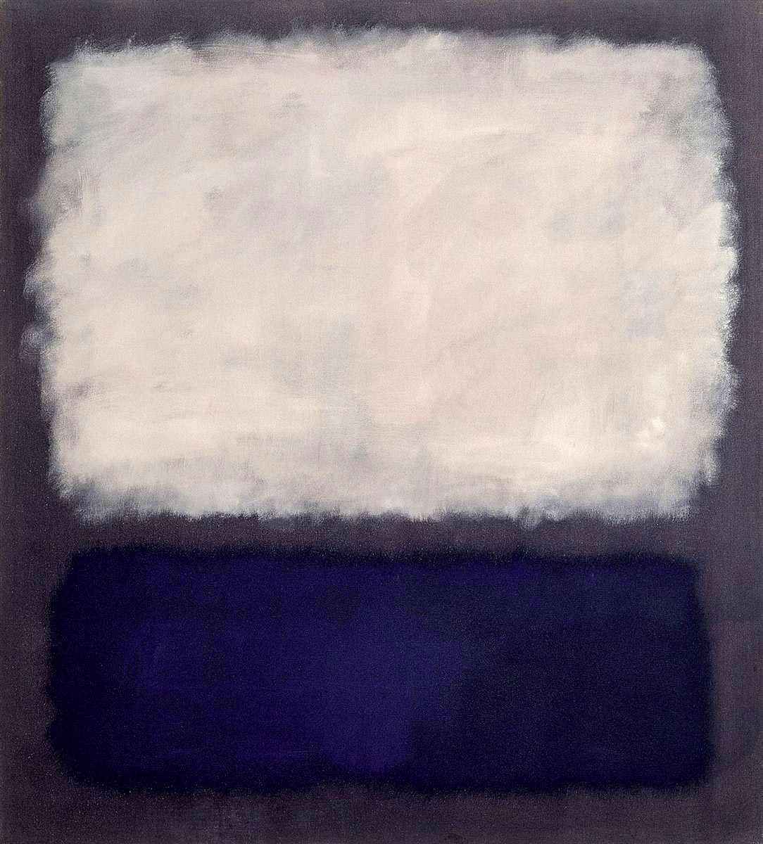 художник Марк РОТКО (1903-1970) / «Синий и серый»