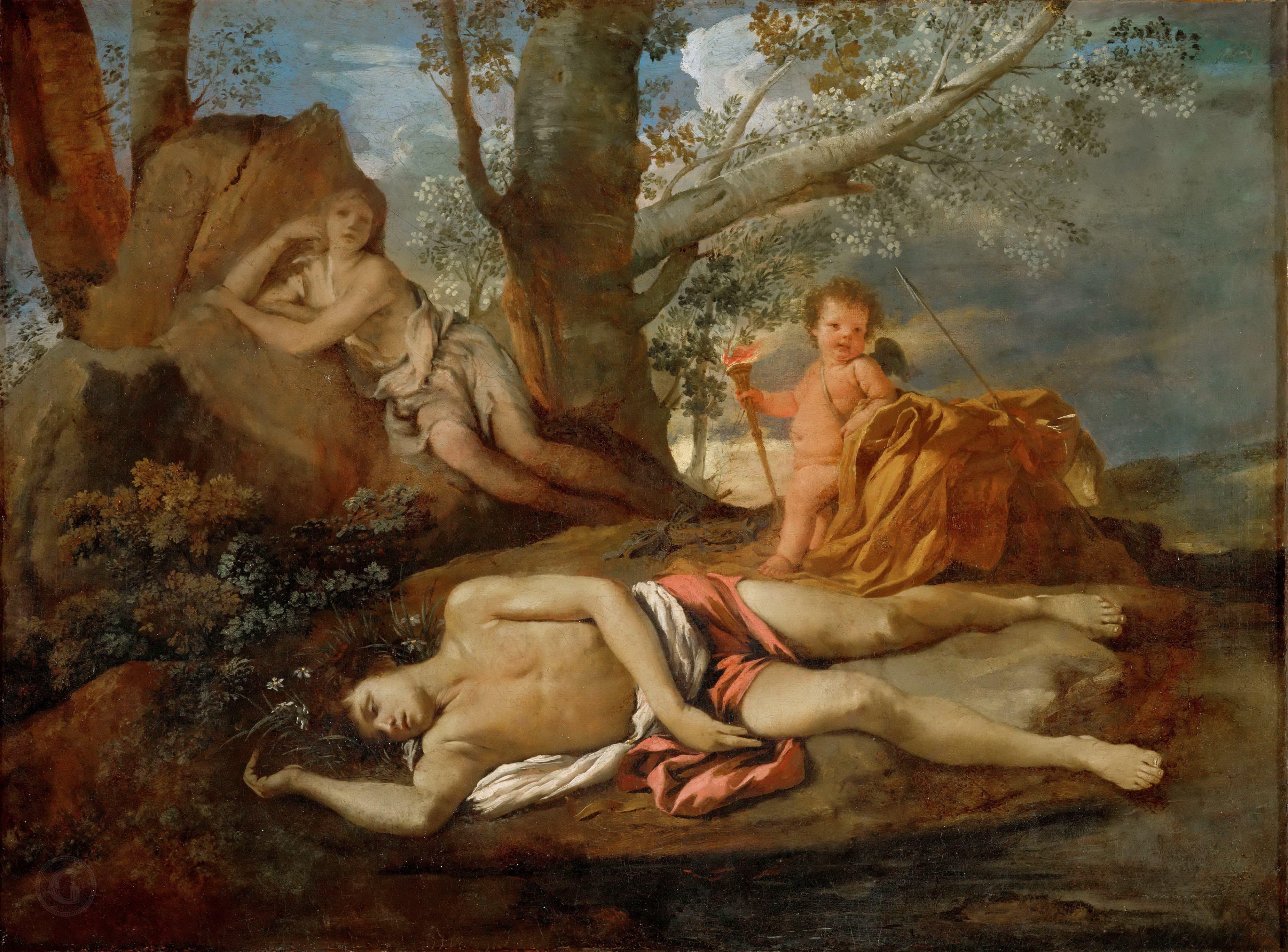 Никола Пуссен / «Нарцис и Эхо» / ок.1630