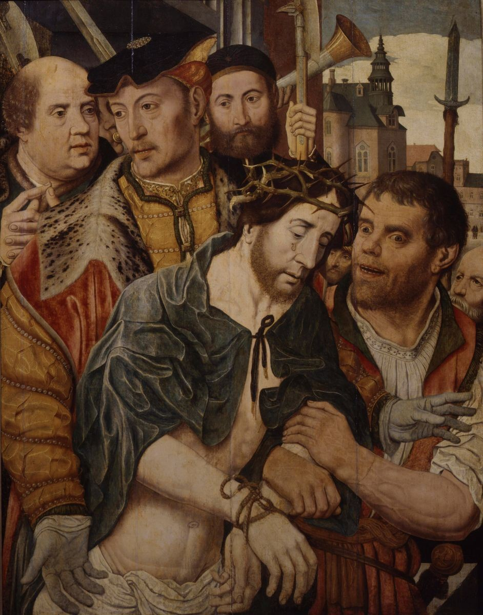 Ян Мостарт / «Се человек» / 1520