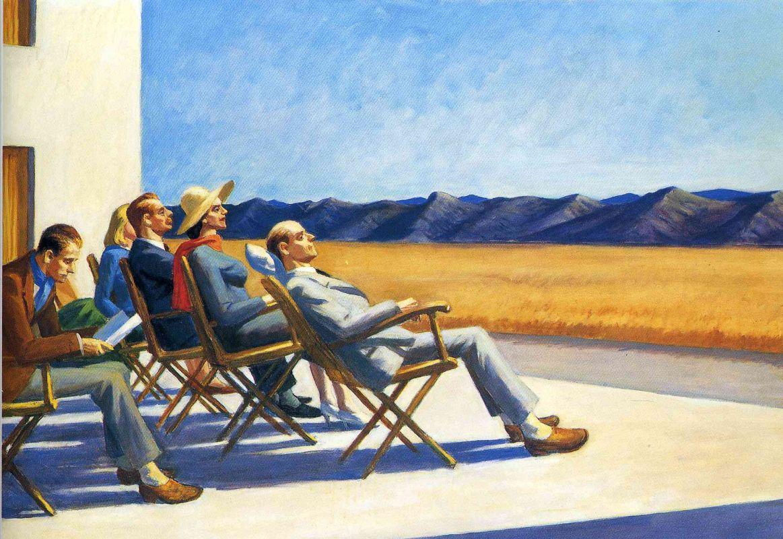Эдвард Хоппер / «Солнечные ванны» / 1960