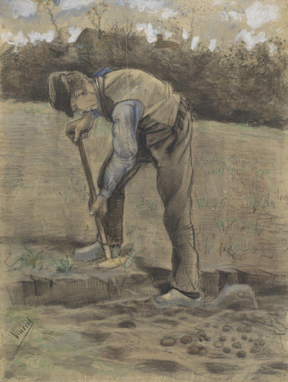 Ван Гог / «Копатель» / 1881