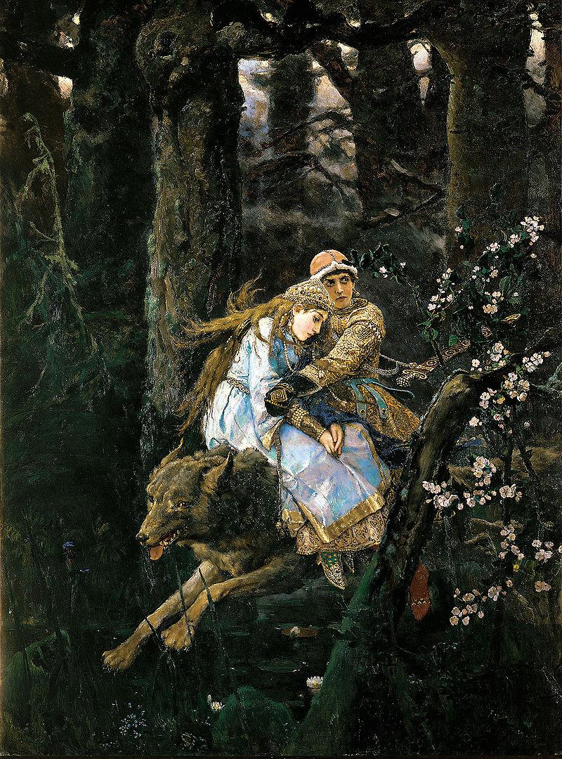 Виктор Васнецов / «Иван-царевич на Сером Волке» / 1889