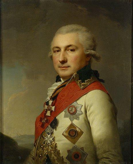 Иоганн Баптист Лампи (старший) / портрет «Дона Осипа Михайловича де Рибаса» / 1796
