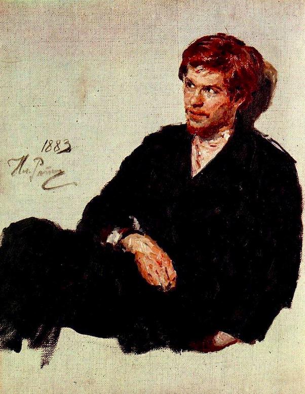 Илья Репин / «Студент нигилист» / 1883