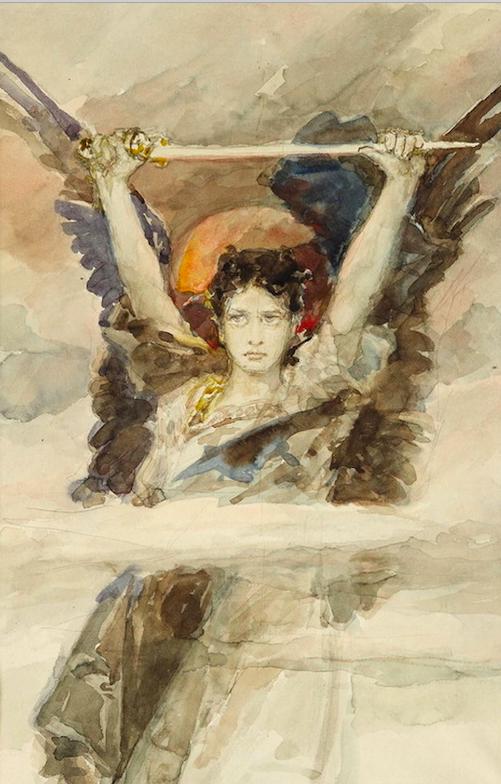 Вильгельм Котарбинский / «Архангел Михаил - предводитель Небесного воинства» / 1890-е