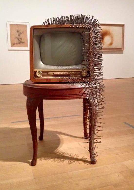 Гюнтер Юккер / «Телевизор с гаоздями» / 1963