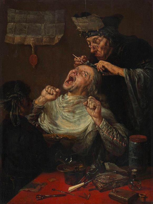 Франсуа Вервилт / «Удаление камня глупости» / XVIIв.