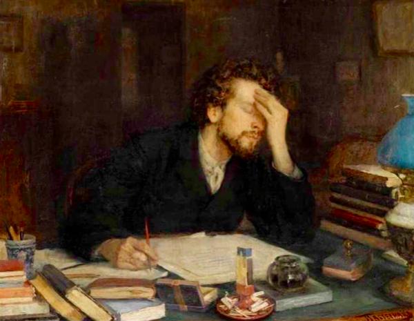 Леонид Пастернак / «Муки творчества» / 1892