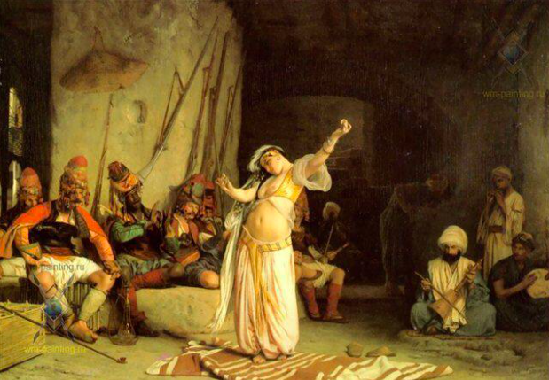 Жан-Леон Жером / «Танец живота» / 1863
