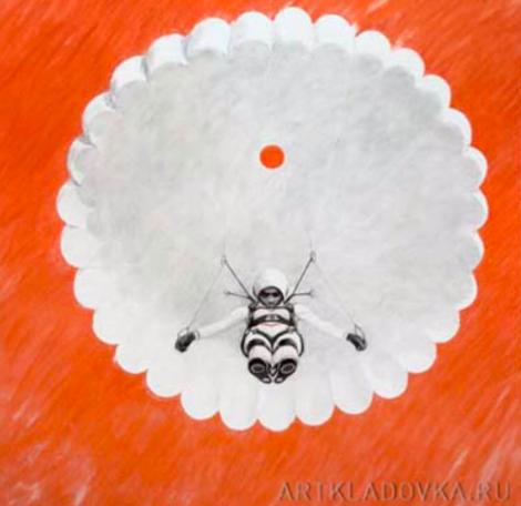 Алексей Каллима / из серии «Женская сборная Чечни по прыжкам с парашютом» / 2008