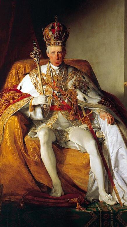 Фридрих фон Амерлинг / «Франц II - последний император Священной Римской империи», фрагмент / 1832
