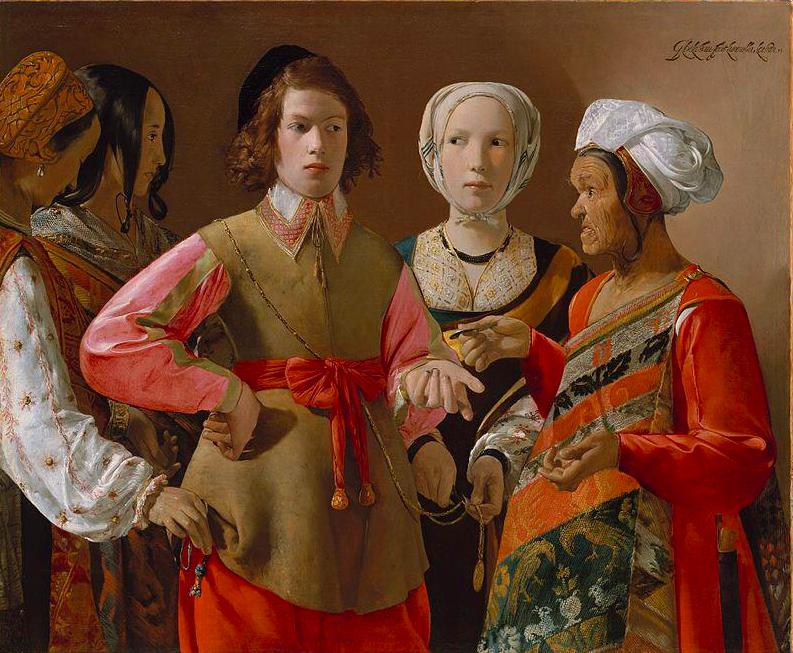 Жорж де Латур / «Гадалка» / 1630-39