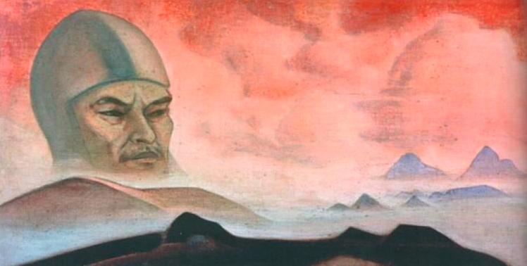 Николай Рерих / «Явление срока» - Гора Ленина» / 1927