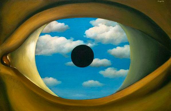 Рене Магритт / «Ложное зеркало» / 1927