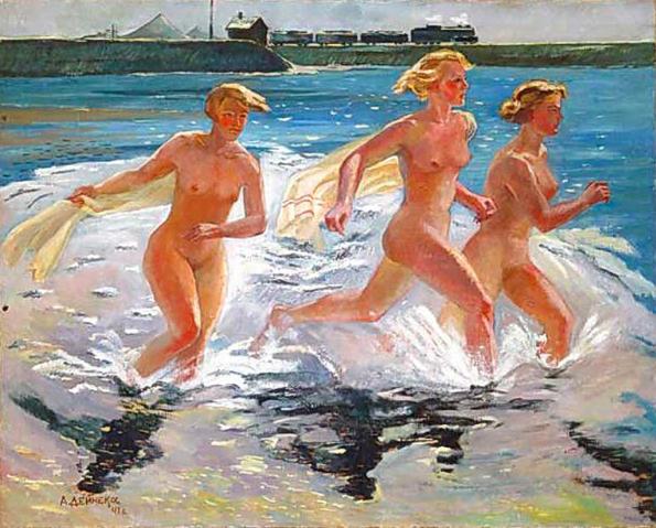 Александр Дейнека / «Бегущие девушки» / 1941