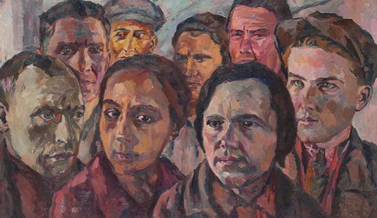 Аристарх Лентулов / «Лица поколения / ? 1930-е