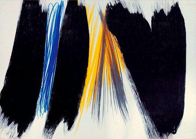 художник Ханс ХАРТУНГ (1904-1989) / «Untitled»