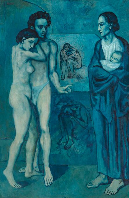 Пабло Пикассо / «Жизнь» / 1903