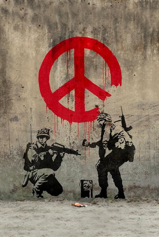 Banksy / «Peace» / 2003