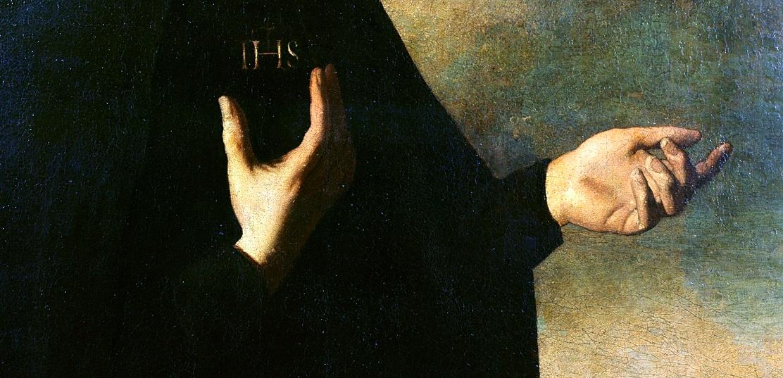 Франсиско де Сурбаран / «Св.Игнатий Лойола», фрагмент / начало XVIIв.