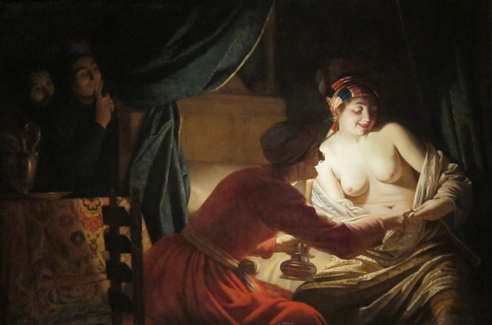 Геррит ван Хонтхорст / «Веселая блошиная охота» / 1628