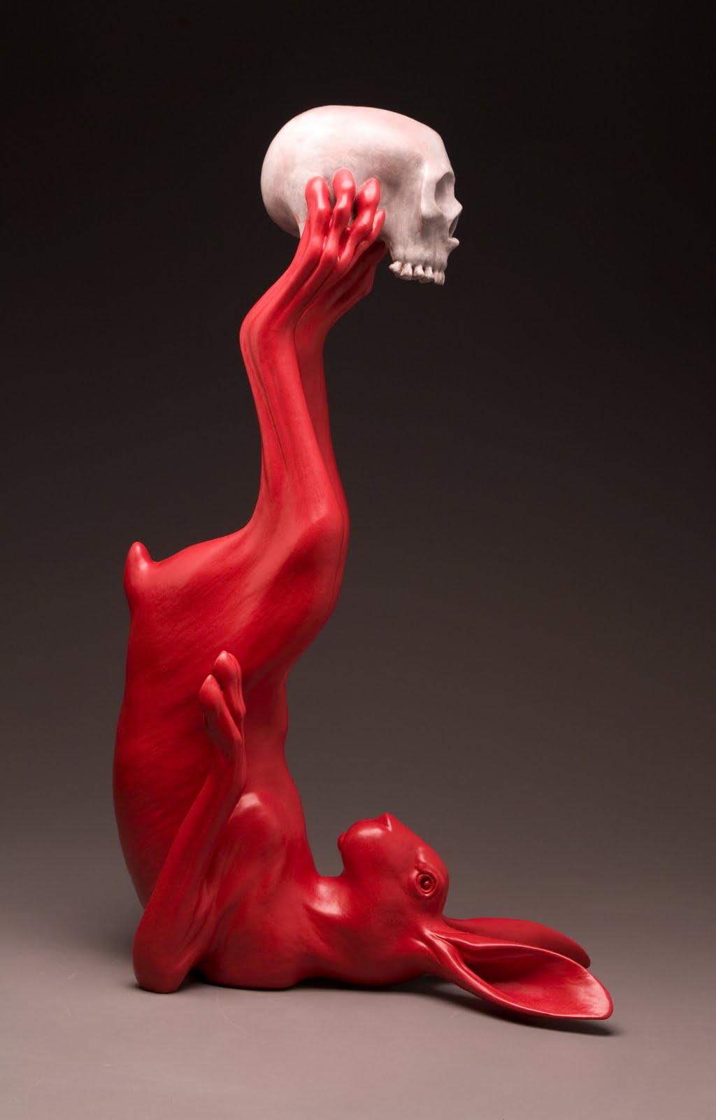 Рассел Рэнкл / «Заяц и череп» / 2011