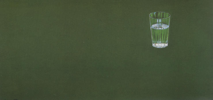 Вальран (ВалерийКозиев) / «Стакан № 2», (Из триптиха «Три стакана») / 2003