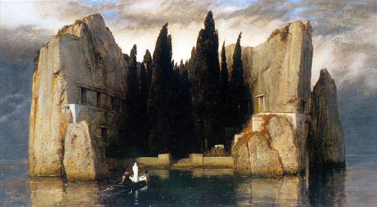 художник Арнольд БЁКЛИН (1827-1901) / «Остров мёртвых»