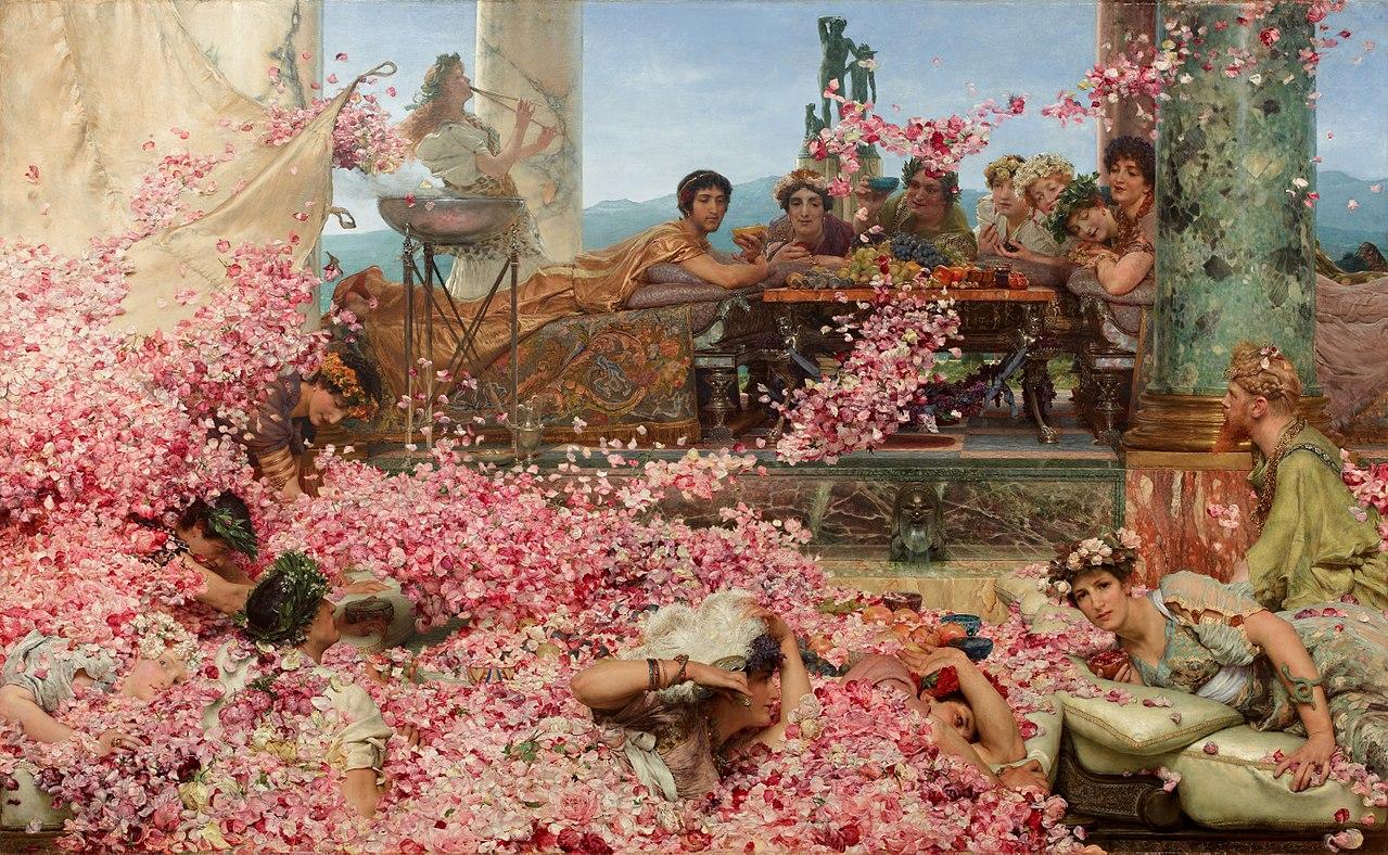 Лоуренс Альма-Тадема / «Розы Гелиогабала» / 1888