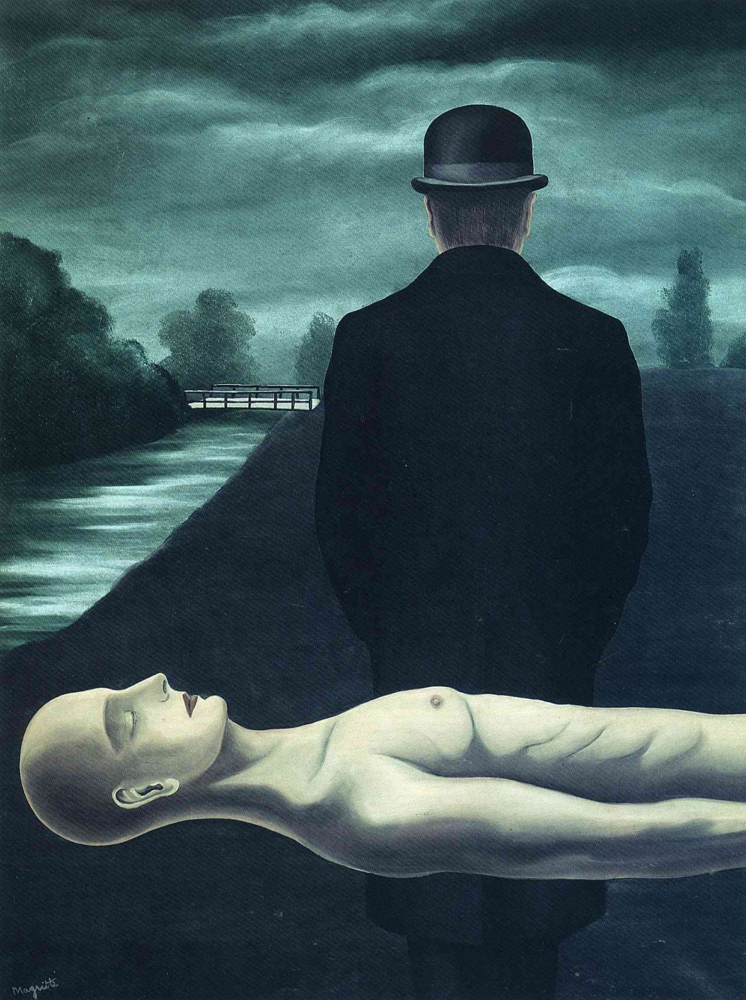 Рене Магритт / «Размышления одинокого ходока» / 1926