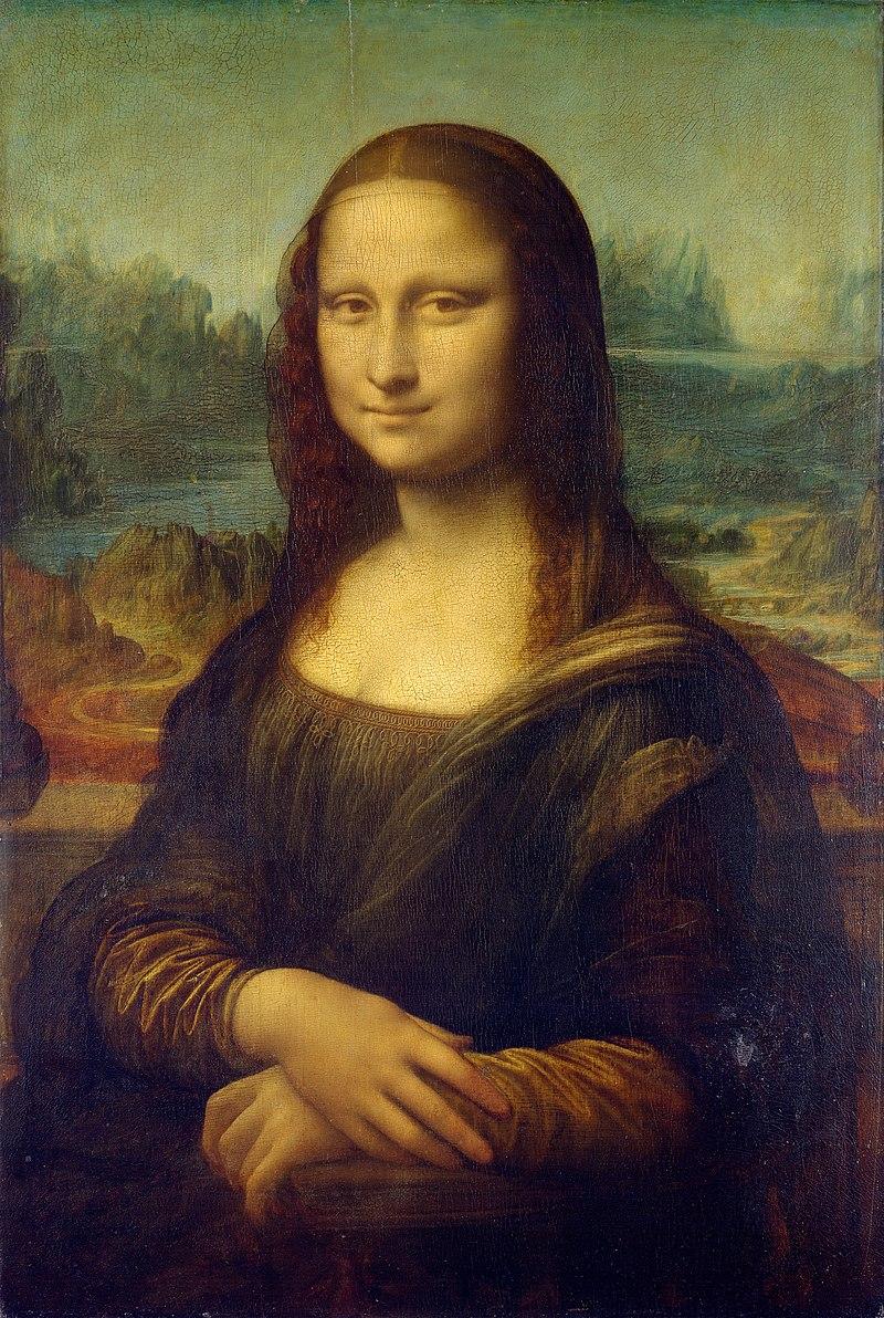 Леонардо да Винчи / «Портрет госпожи Лизы дель Джокондо» / 1503-05