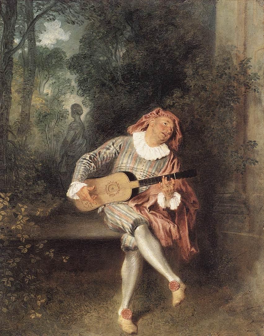 художник Антуан ВАТТО (1684-1721) / «Меццетен»