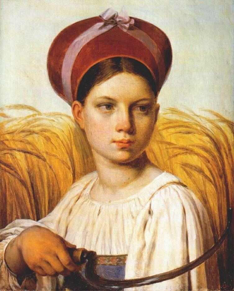 Алексей Венецианов / «Жница» / 1820
