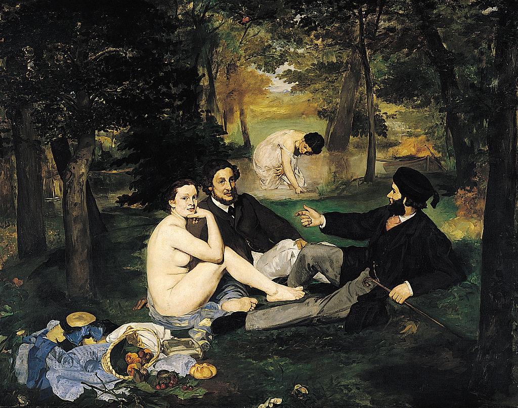 Эдуард Мане / «Завтрак на траве» / 1863