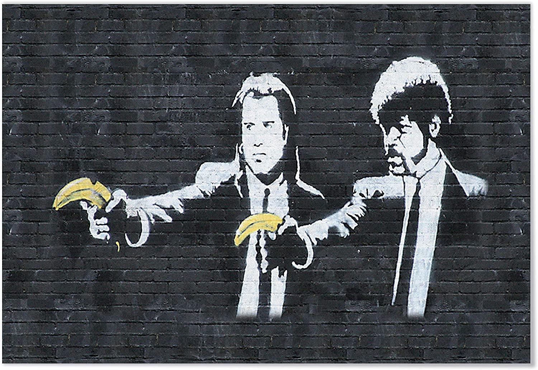Banksy / «Pulp Fiction» / ХХIв.