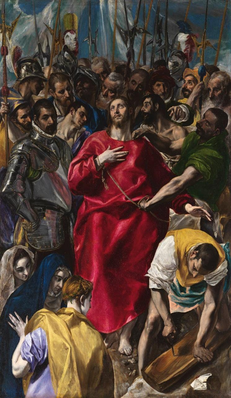 Эль Греко / «Совлечение одежд с Христа» / 1577-79