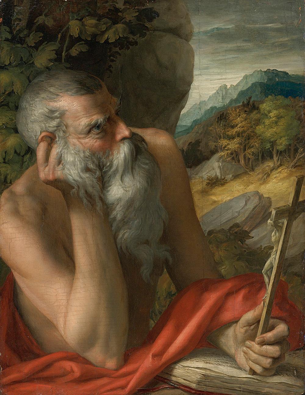 Лино Фронджиа (арестован 2019) / «Cвятой Иероним» был продан как Пармиджанино на акционе Sotheby's, но затем признан подделкой