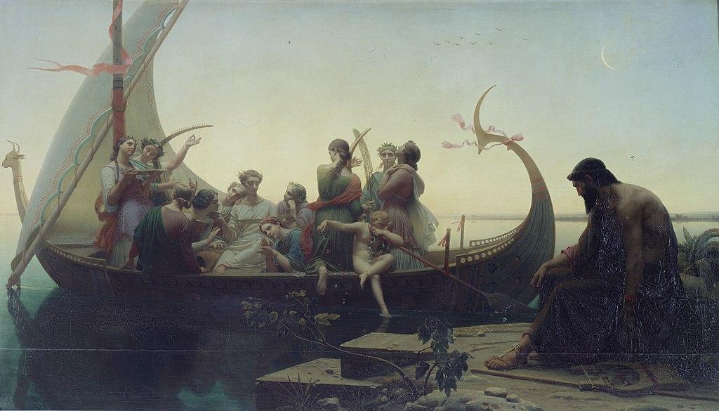 художник Марк Габриэль Шарль ГЛЕЙР (1806-1874) / «Вечер, или Утраченные иллюзии»