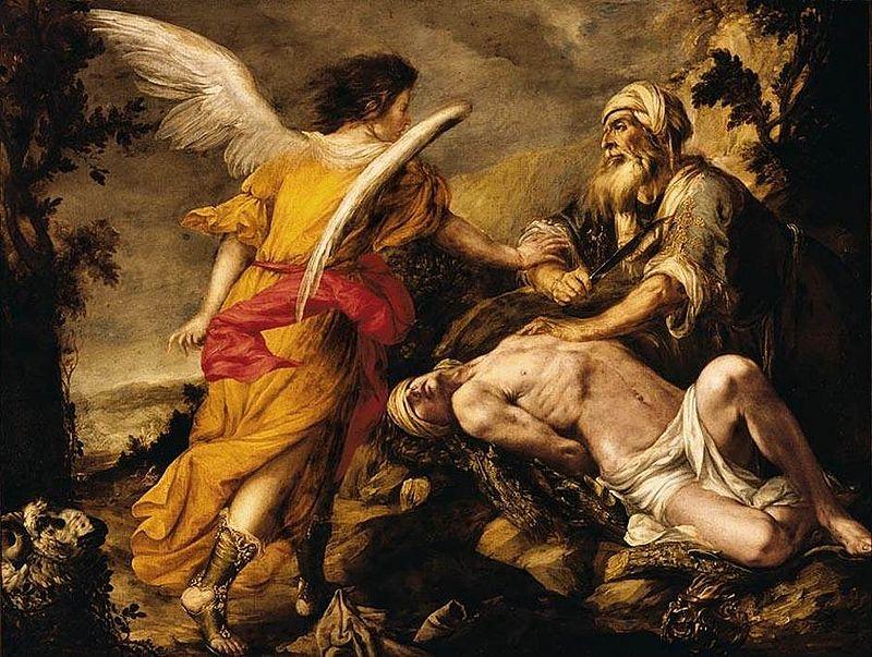 художник Хуан де ВАЛЬДЕС РЕАЛЬ( 1622-1690) / «Жертвоприношение Авраама»