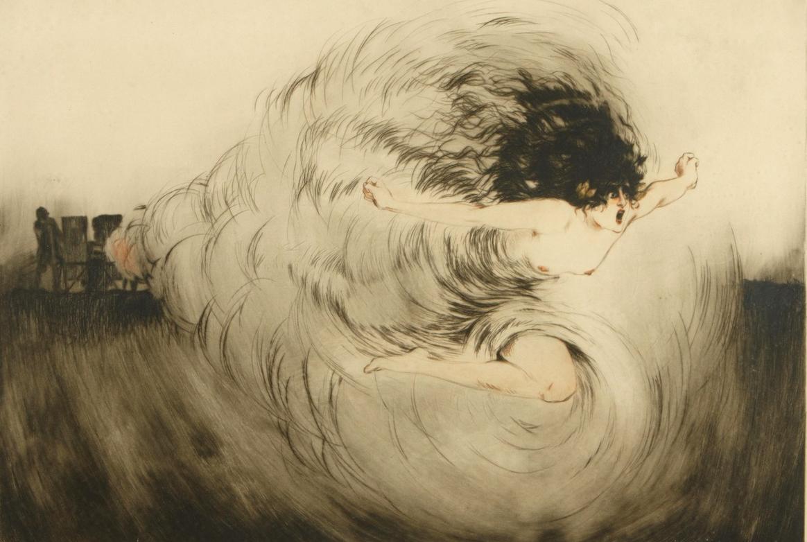 Луи Икарт / «Голос орудий» / 1917